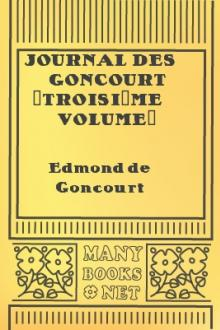 Journal des Goncourt (Troisième volume)