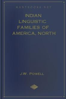 Indian Linguistic Families of America, North of Mexico