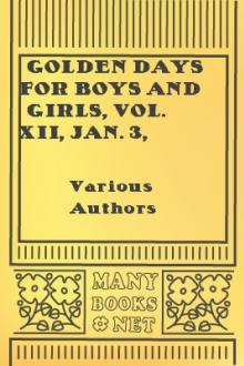 Golden Days for Boys and Girls, Vol. XII, Jan. 3, 1891