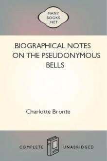 Biographical Notes on the Pseudonymous Bells