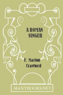 A Roman Singer by F. Marion Crawford