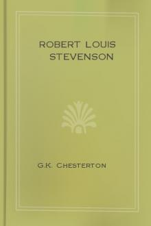Robert Louis Stevenson by G. K. Chesterton