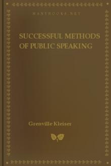 Successful Methods of Public Speaking