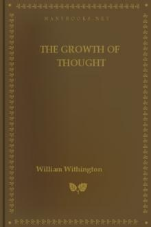 The Growth of Thought