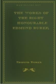 The Works of the Right Honourable Edmund Burke, Vol. VIII