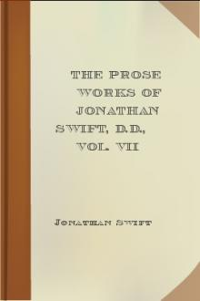 The Prose Works of Jonathan Swift, D.D., Vol. VII by Jonathan Swift