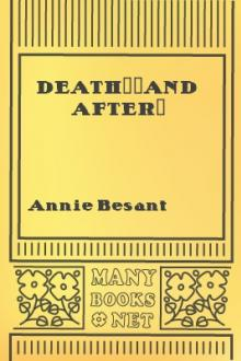 Death--and After? by Annie Besant