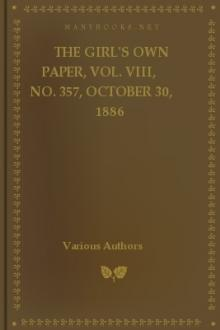The Girl's Own Paper, Vol. VIII, No. 357, October 30, 1886 by Various