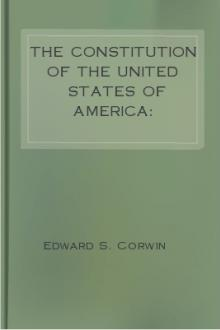 The Constitution of the United States of America: Analysis and Interpretation by Unknown