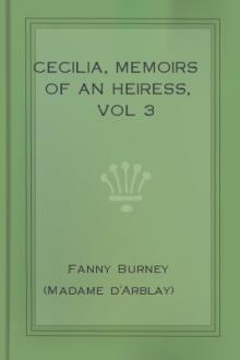 Cecilia, Memoirs of an Heiress, vol 3