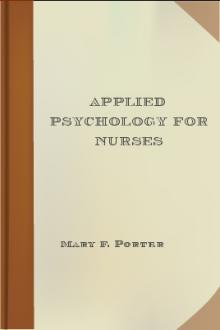 Applied Psychology for Nurses by Mary F. Porter