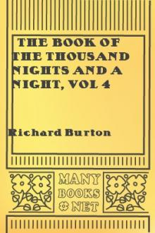 The Book of the Thousand Nights and a Night, vol 4 by Sir Richard Francis Burton