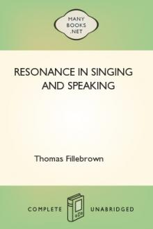 Resonance in Singing and Speaking by Thomas Fillebrown