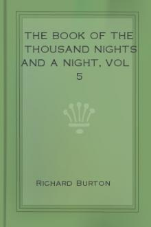 The Book of the Thousand Nights and a Night, vol 5 by Sir Richard Francis Burton