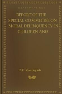 Report of the Special Committee on Moral Delinquency in Children and Adolescents by New Zealand. Special Committee on Moral Delinquency in Children and Adolescents