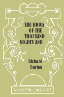 The Book of the Thousand Nights and a Night, vol 9 by Sir Richard Francis Burton