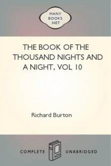The Book of the Thousand Nights and a Night, vol 10 by Sir Richard Francis Burton