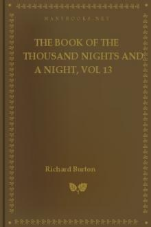 The Book of the Thousand Nights and a Night, vol 13 by Sir Richard Francis Burton