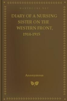 Diary of a Nursing Sister on the Western Front, 1914-1915 by Anonymous