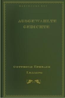 Ausgewählte Gedichte By Gotthold Ephraim Lessing Free Ebook