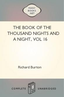 The Book of the Thousand Nights and a Night, vol 16 by Sir Richard Francis Burton