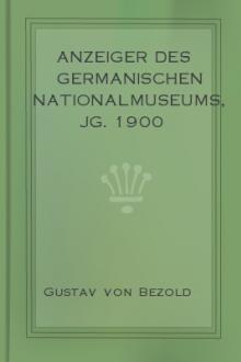 Anzeiger des Germanischen Nationalmuseums, Jg. 1900