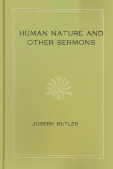 Human Nature and Other Sermons by Joseph Butler
