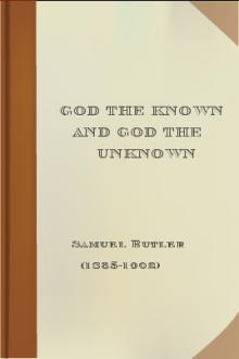 God the Known and God the Unknown by 1835-1902