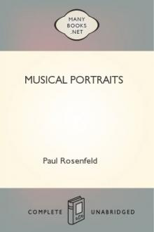 Musical Portraits by Paul Rosenfeld