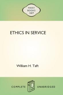 Ethics in Service by William Howard Taft