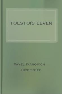 Tolstoi's leven