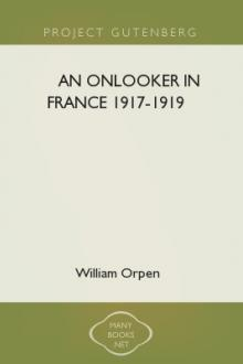 An Onlooker in France 1917-1919 by Sir Orpen William