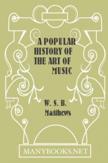 A Popular History of the Art of Music by William Smythe Babcock Mathews