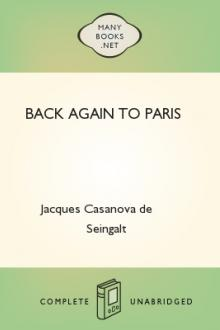 Back Again to Paris by Giacomo Casanova