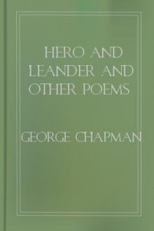 Hero and Leander and Other Poems by George Chapman, Christopher Marlowe