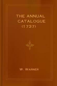 The Annual Catalogue (1737)
