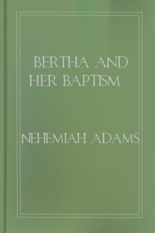 Bertha and Her Baptism by Nehemiah Adams