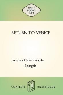 Return to Venice by Giacomo Casanova