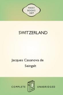 Switzerland by Giacomo Casanova