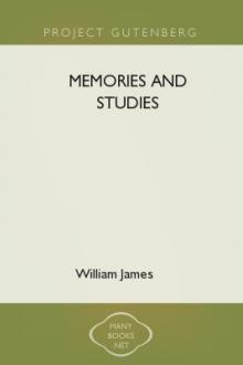Memories and Studies by William James