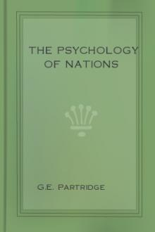 The Psychology of Nations by G. E. Partridge