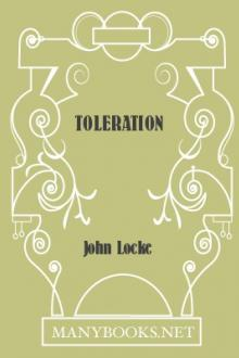 Toleration by John Locke
