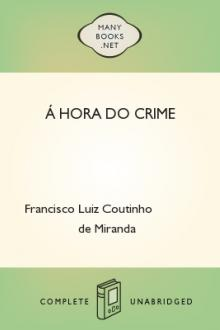 Á hora do crime by Francisco Luiz Coutinho de Miranda