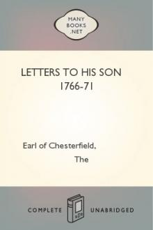 Letters to His Son 1766-71