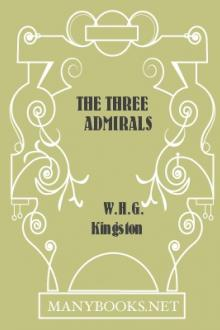 The Three Admirals by W. H. G. Kingston