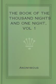 The Book of the Thousand Nights and One Night, vol 1 by Unknown