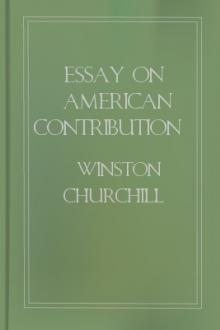 Essay On American Contribution and the Democratic Idea by Winston Churchill