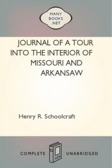 Journal of a Tour into the Interior of Missouri and Arkansaw by Henry R. Schoolcraft