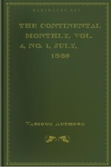 The Continental Monthly, Vol. 4, No. 1, July, 1863