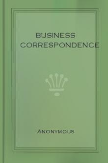 Business Correspondence by Anonymous